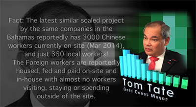 Video of Tom Tates 36000 jobs lie