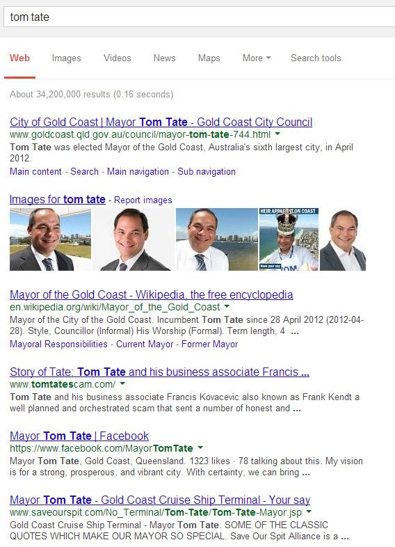 mayor tom tate gold coast cruise ship terminal your say