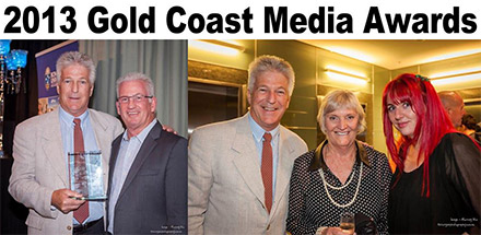 2013 Gold Coast Media Awards Winner