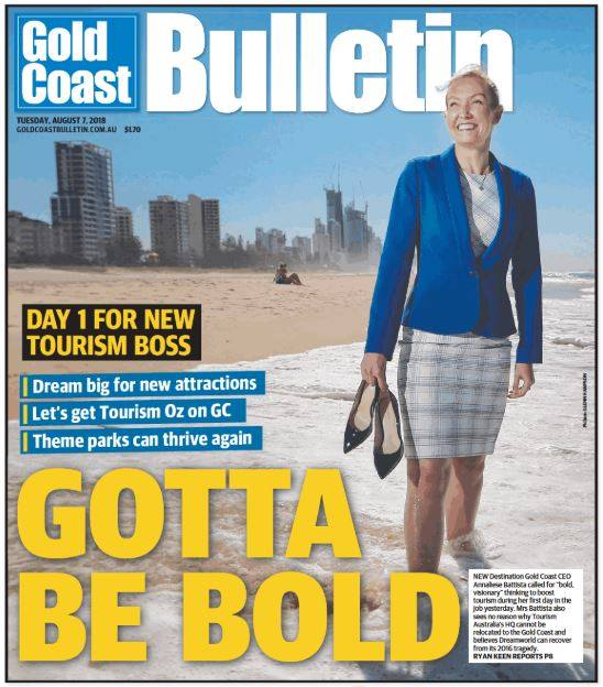 New Tourism Boss Destination Gold Coast