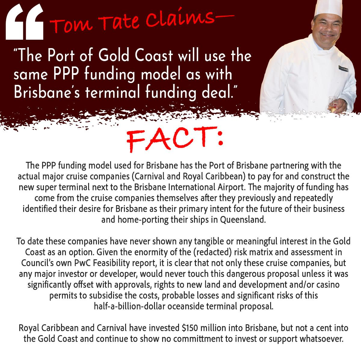 Tom Tate Claims PPP