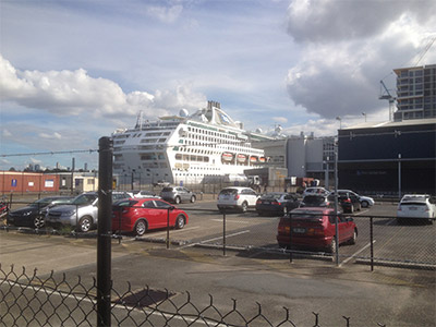 Brisbane Cruise Ship Terminal