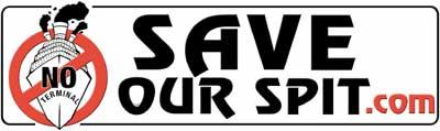 Save Our Spit sticker
