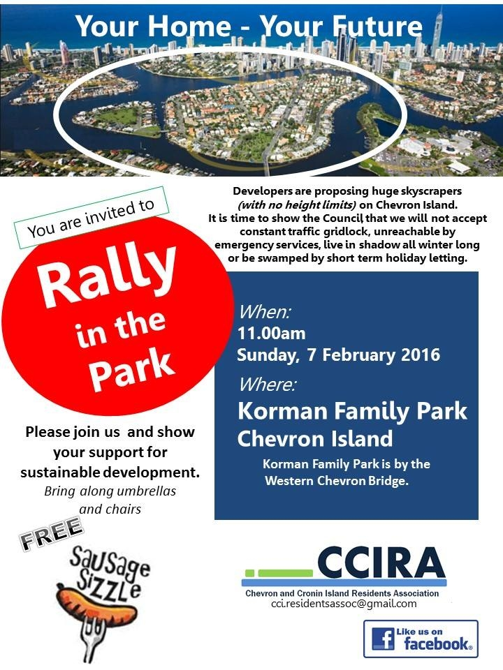 Rally in the Park Chevron Is