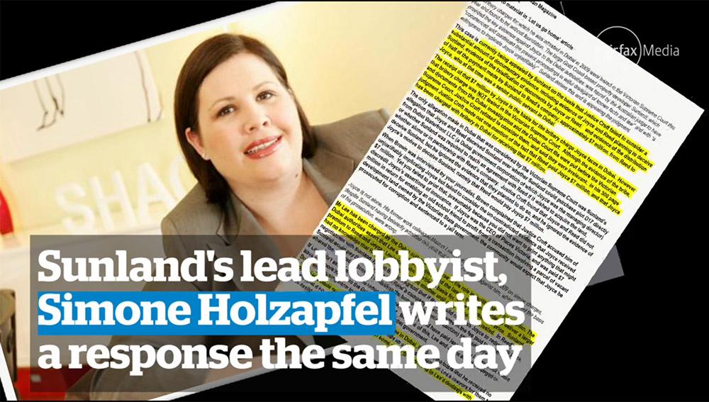 Lobbyist Simone Holzapfel