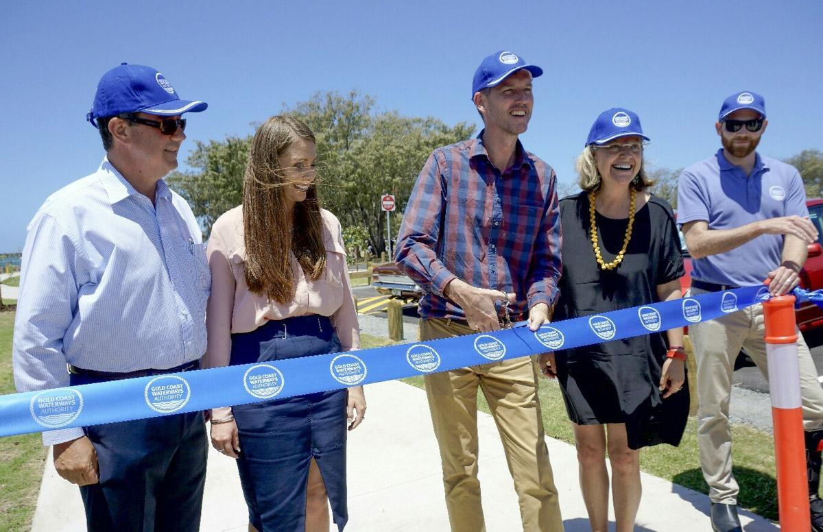 opening of upgrades to Doug Jennings Park